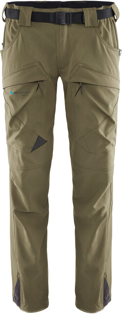 Klättermusen M's Gere 2.0 Pants Short Dusty Grön